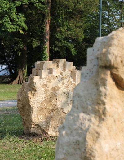 """Skulptur für den Schloßpark """"Orte"""""""